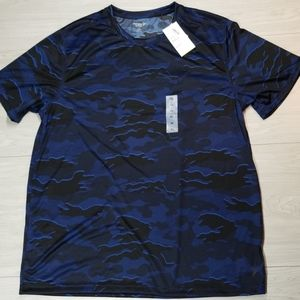 Old Navy Blue Camouflage top